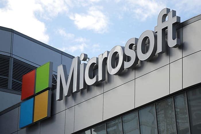 Microsoft hovedkvarter logo