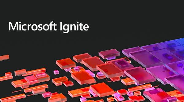 Microsoft Ignite 2021 logo header